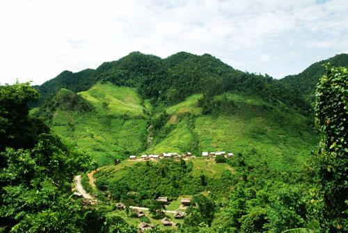 Hình ảnh rừng Minh Hóa