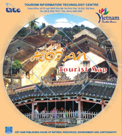 Tờ gấp Bản đồ du lịch Hội An năm 2014