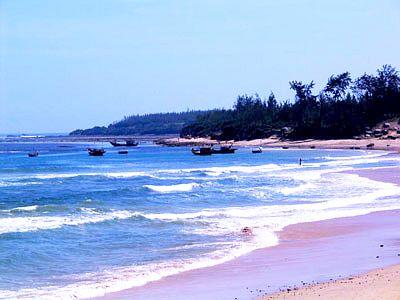 Đến với biển Khe Hai, Quảng Ngãi