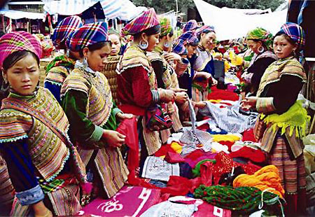 Chợ Bắc Hà (Lào Cai)