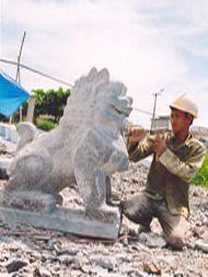 Nghề chạm khắc đá ở Ninh Vân (Ninh Bình)