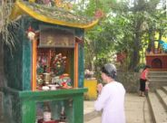 Đền Cảnh Xanh - Ngôi đền độc đáo nhất ở Tuyên Quang