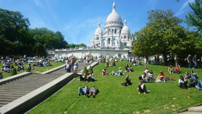 Kết quả hình ảnh cho Đồi Montmartre