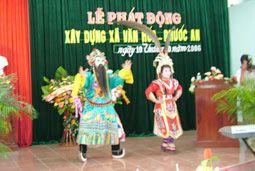 Làng hát bội cổ truyền ở xã Phước An, huyện Tuy Phước, Bình Định