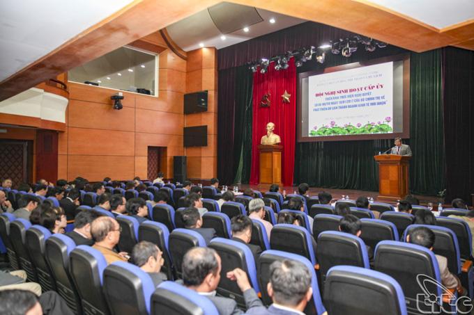 Đảng bộ Bộ VHTTDL tổ chức quán triệt Nghị quyết 08-NQ/TW của Bộ Chính trị