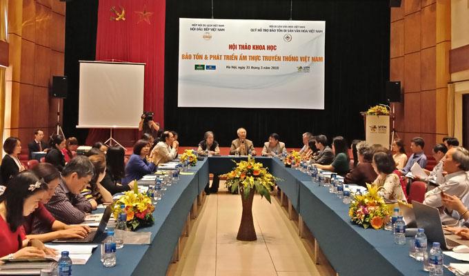 Hội thảo khoa học bảo tồn và phát triển ẩm thực truyền thống Việt Nam