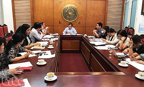 Họp bàn về công tác lễ tân phục vụ Diễn đàn Du lịch ASEAN (ATF) 2019