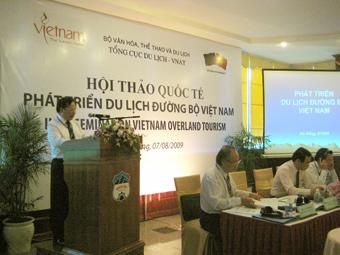 Hội thảo quốc tế phát triển du lịch đường bộ Việt Nam