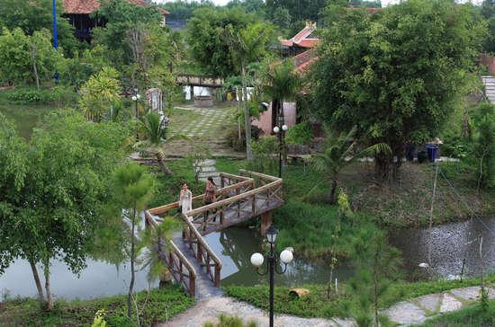 Làng cổ Phước Lộc Thọ ở tỉnh Long An