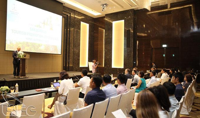 Chương trình xúc tiến du lịch San Marino tại Việt Nam
