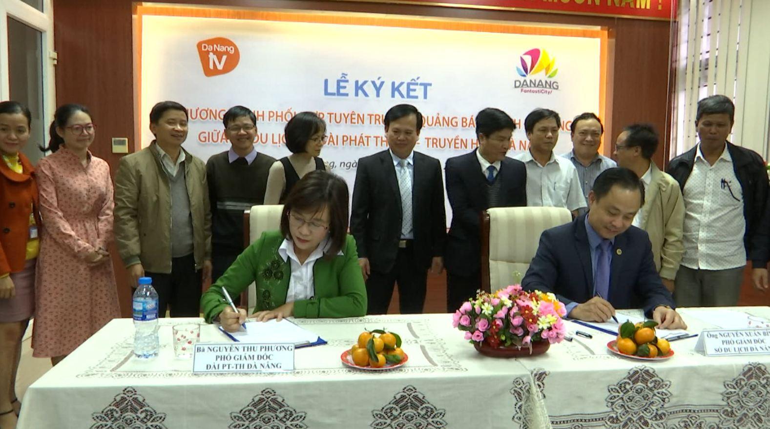 Sở Du lịch – Đài Phát thanh truyền hình Đà Nẵng: Ký kết Chương trình phối hợp tuyên truyền, quảng bá du lịch Đà Nẵng