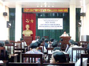 Đảng bộ CQTCDL Sơ kết công tác 6 tháng đầu năm, triển khai công tác 6 tháng cuối năm 2008