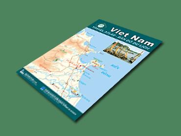 Sách: Bản đồ du lịch Việt Nam – Viet Nam Travel Atlas phiên bản 9