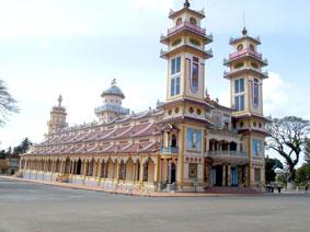 Tòa Thánh Tây Ninh - Một công trình kiến trúc độc đáo