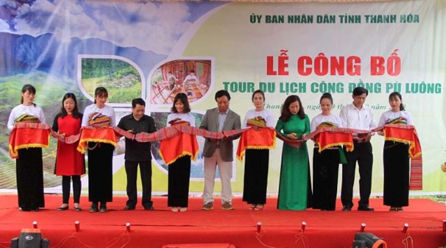 Thanh Hóa công bố tour du lịch cộng đồng Pù Luông