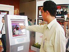 Ðưa trạm thông tin đa ngữ vào phục vụ Năm Du lịch quốc gia Mekong - Cần Thơ 2008