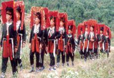 Hoa văn trang trí trên y phục nữ dân tộc Dao đỏ