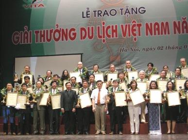 Vinh danh những doanh nghiệp du lịch hàng đầu Việt Nam năm 2008